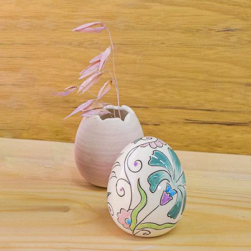 Small ceramic egg