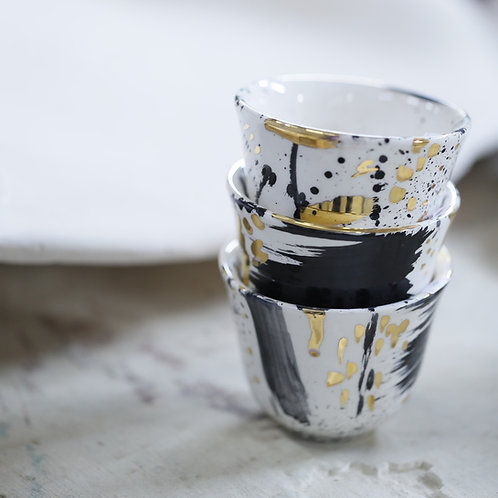 Abstract sada coffee cup