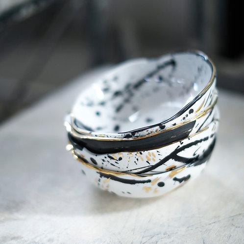Organic abstract bowl
