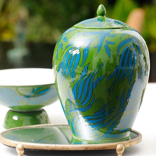 Tulip Oval Ginger Jar