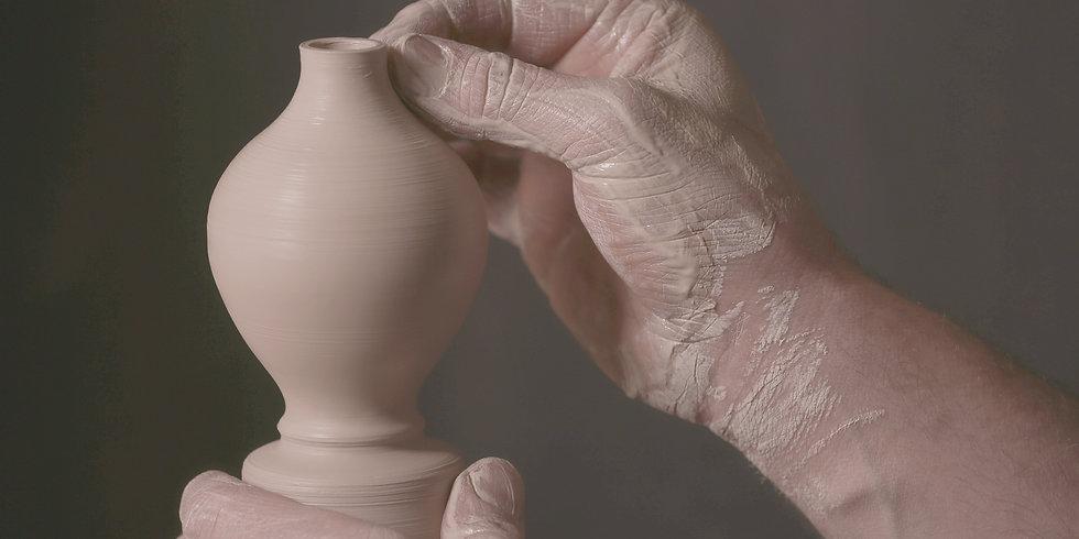 hand thrown jordanian ceramics beit al bawadi