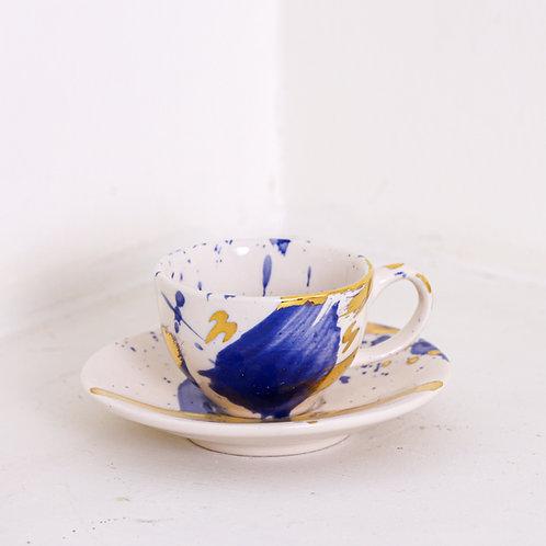 Abstract espresso cup