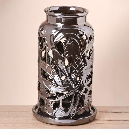 Large Metallic Lantern