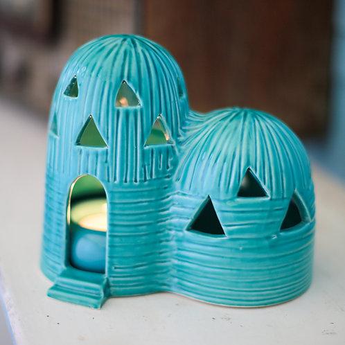 Medium mud house lantern