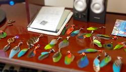 Bijoux-plumes  prêts