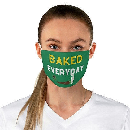 Baked Fabric Face Mask