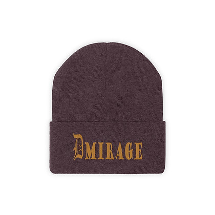 D| DMIRAGE GOLD Knit Beanie