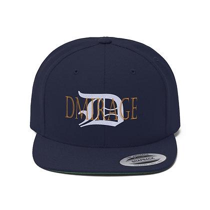 D| DMirage  Flat Bill Hat