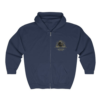 Organic & Natural Heavy Blend™ Full Zip Hooded Sweatshirt