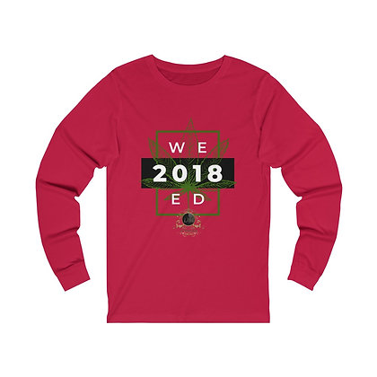 WEED Legal 2018 Unisex Jersey Long Sleeve Tee