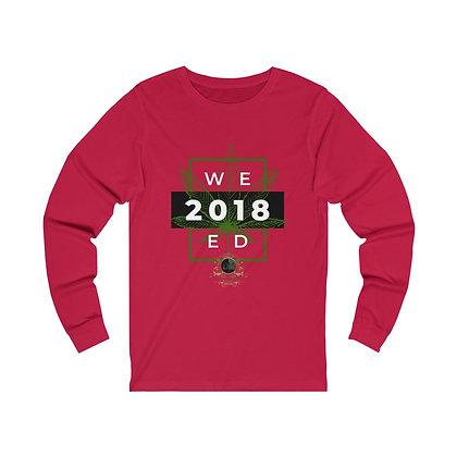 WEED Legal 2018 Unisex Jersey Long Sleeve Tee
