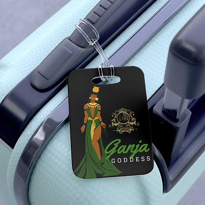 Ganja Goddess Bag Tag