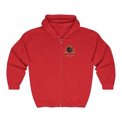 Ganja Life Heavy Blend™ Full Zip Hooded Sweatshirt