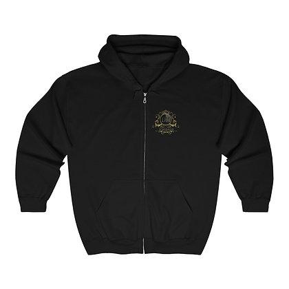 Sativa/Indica Heavy Blend™ Full Zip Hooded Sweatshirt