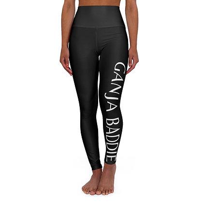 Ganja Baddie High Waisted Yoga Leggings