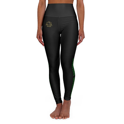 Ganja Baddie II High Waisted Yoga Leggings