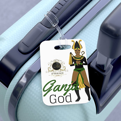 Ganja God Bag Tag