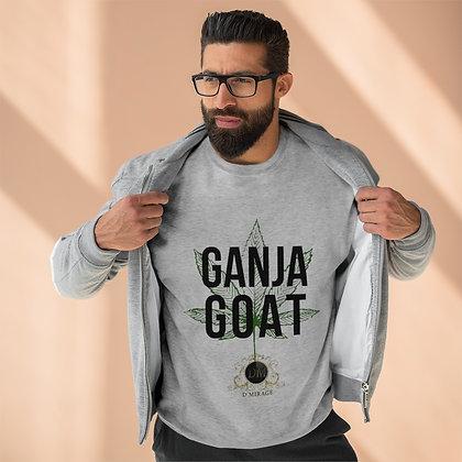 Ganja GOAT Premium Crewneck Sweatshirt
