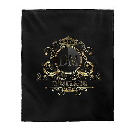 DMIRAGE   Velveteen Plush Blanket