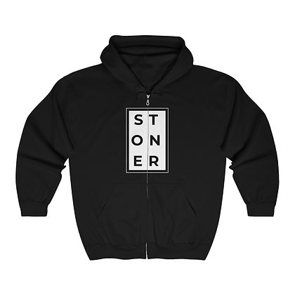Stoner Heavy Blend™ Full Zip Hooded Sweatshirt