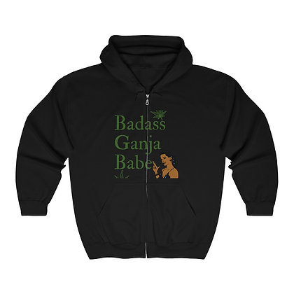 BGB Heavy Blend™ Full Zip Hooded Sweatshirt