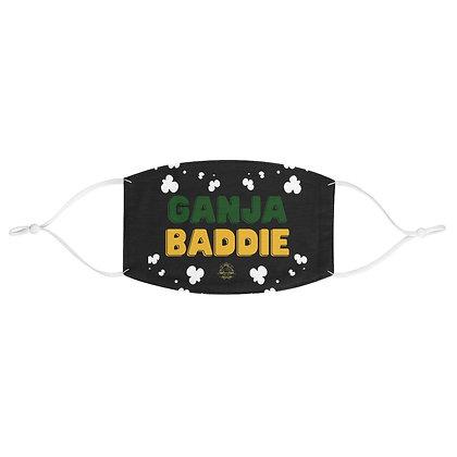 Ganja Baddie Fabric Face Mask