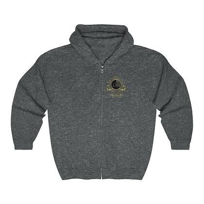Ganja Goat Heavy Blend™ Full Zip Hooded Sweatshirt