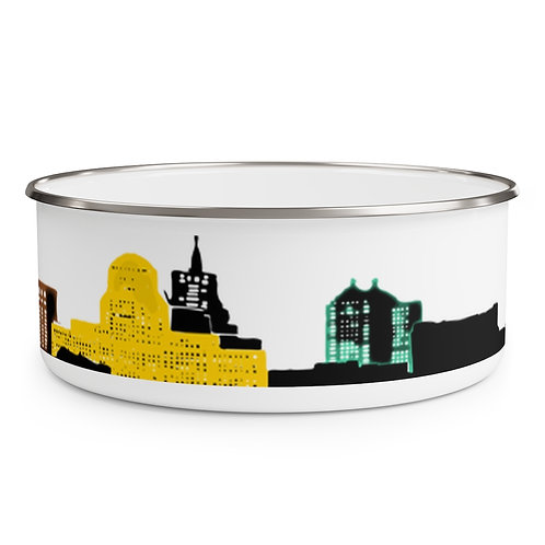 716 Skyline Enamel Bowl