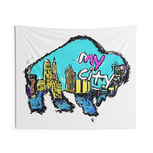 MYcity Indoor Wall Tapestries