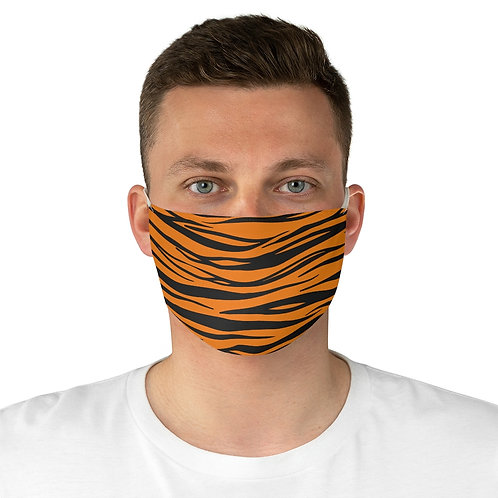 Tiger Print Face Mask