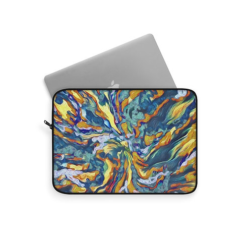 Abstract Print Laptop Sleeve