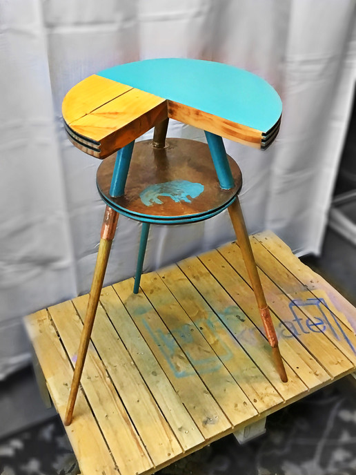 After - Accent Table