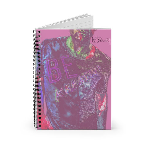 Be Kreative Spiral Notebook - Ruled Line