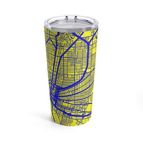 City Grid: Buffalo (Blue&Yellow) Tumbler 20oz