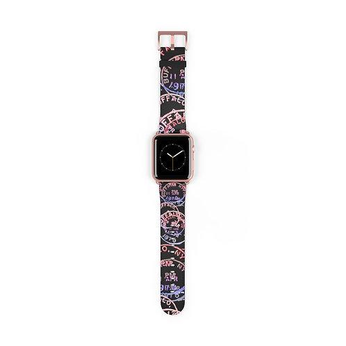 Buffalo Postage(shimmer) Apple Watch Band