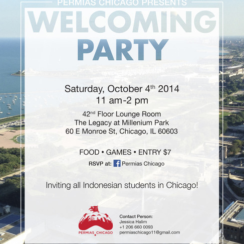 Welcoming Party 2014