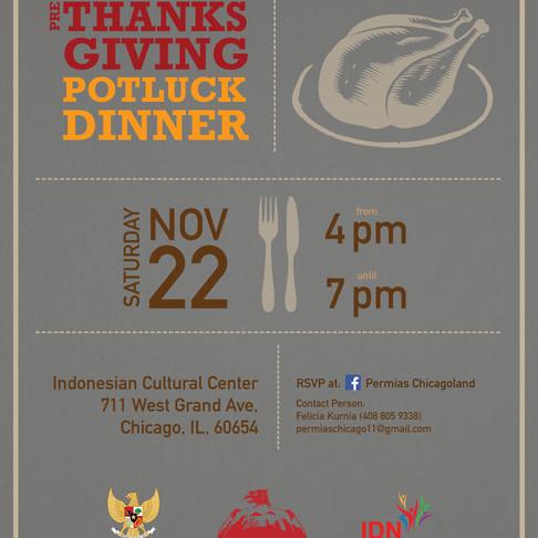 Pre-Thanksgiving Potluck Dinner 2014