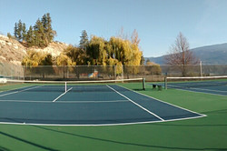 Resurfaced Courts