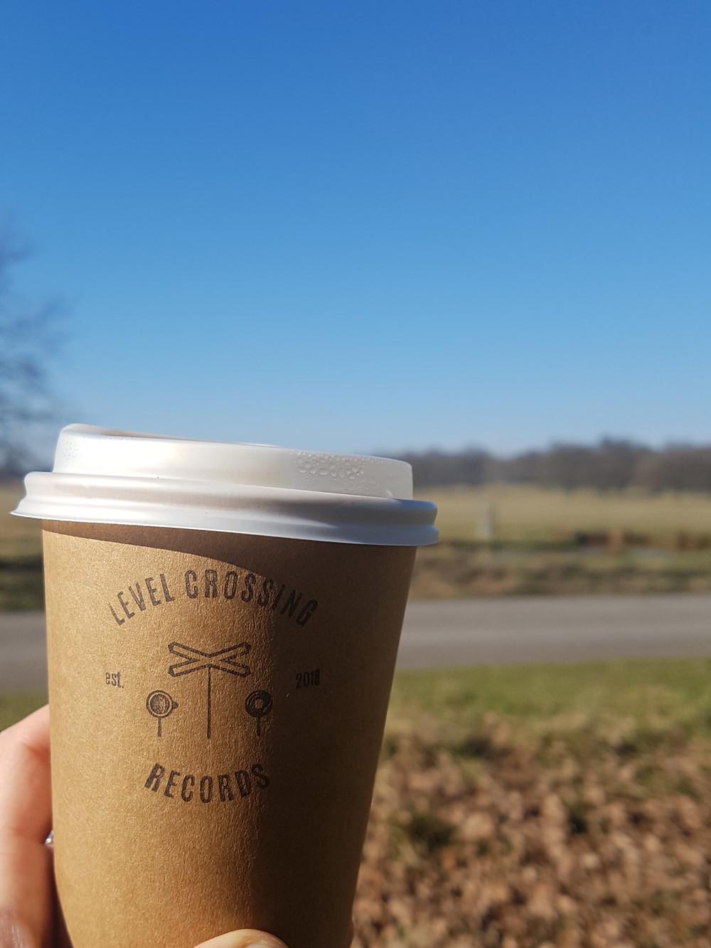 Coffee in Richmond Park in London
