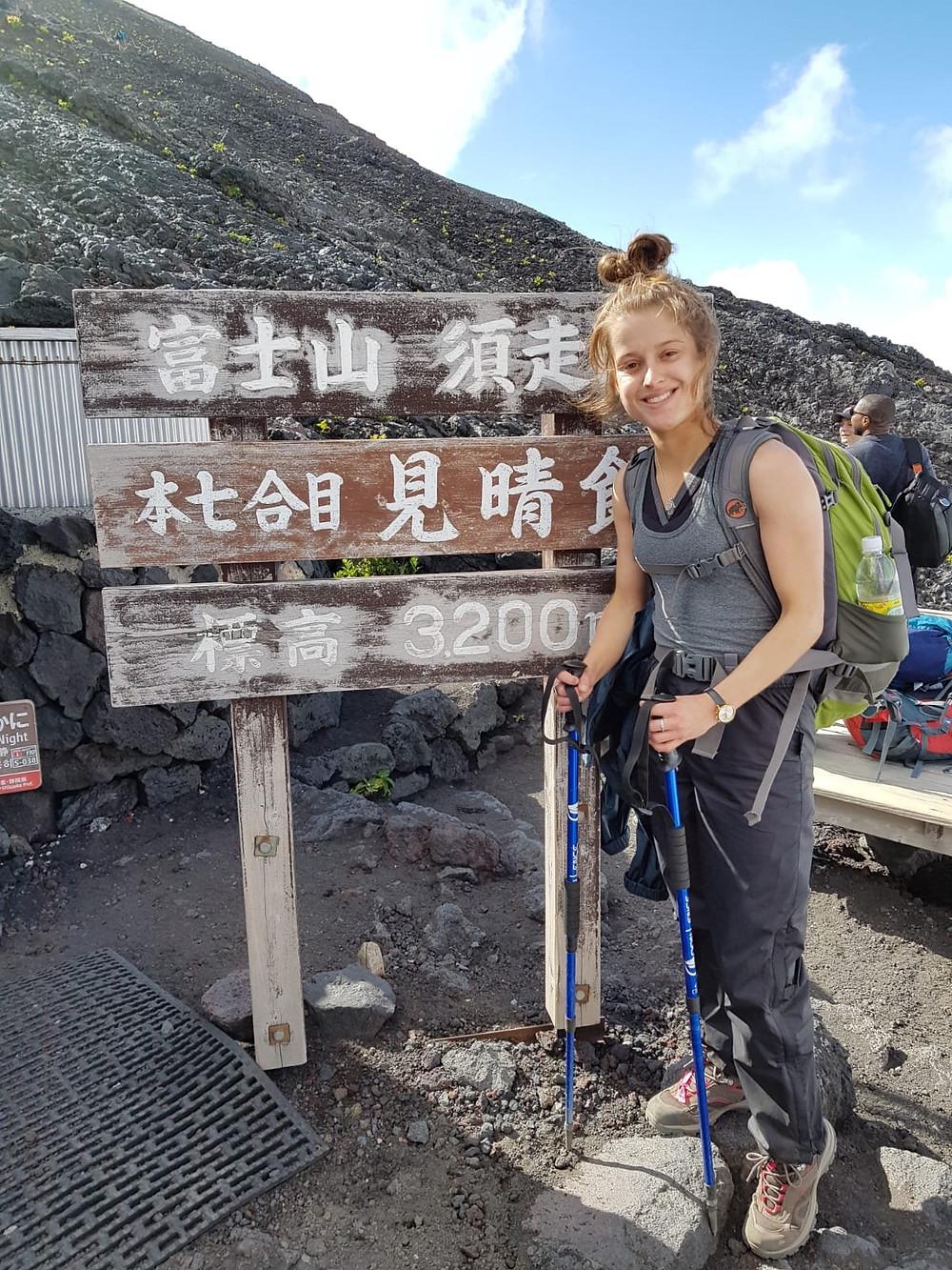 Mount Fuji mountain hut
