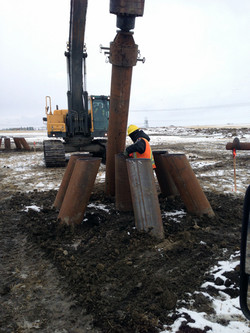 Screw Pile Grouping