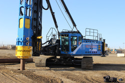 Driven Piling Installed