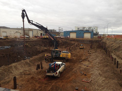 Screw Piles for Commercial Building