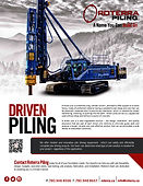 Driven Piling Brochure