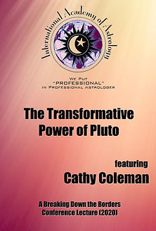 Transformative Power of Pluto - Cathy Co
