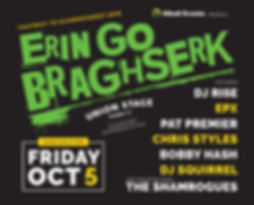 Erin Go Braghserk - Shamrockfest Launch Party
