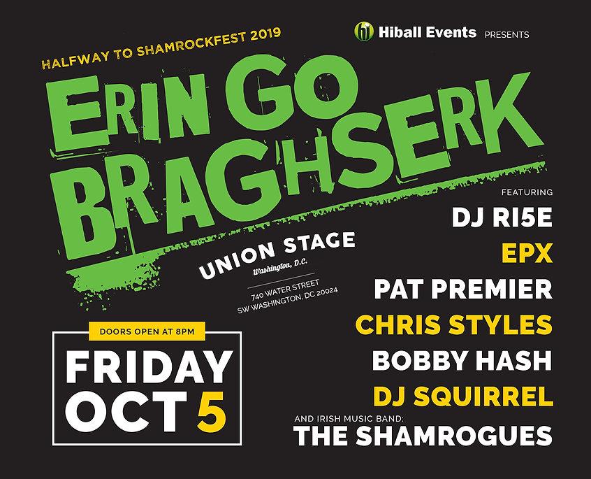 Erin Go Braghserk - Shamrockfest Launch Party