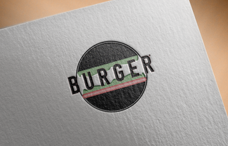Free Logo Mockup PSD on Textured paper.p