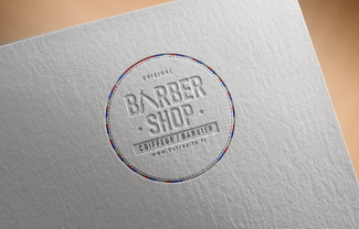 Free Logo Mockup PSD on Textured paper2.