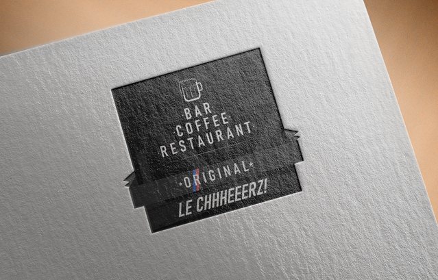 Free Logo Mockup PSD on Textured paper8.